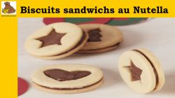 Biscuits sandwichs au Nutella