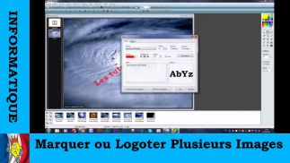 Marquer ou Logoter Plusieurs Images