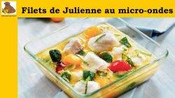 Filets de julienne au micro-ondes