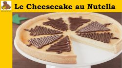 Le cheesecake au nutella