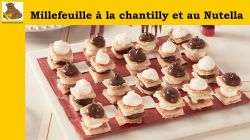 Millefeuille à la chantilly et au Nutella