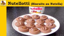 Nutellotti biscuits au Nutella