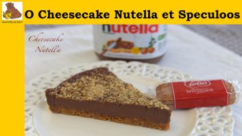cheesecake com Nutella