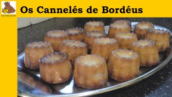 Os cannelés de bordéus