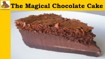 The magical chocolate cake